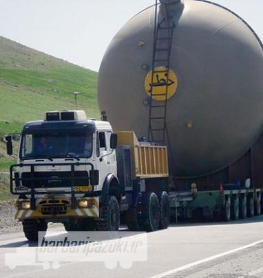 حمل بار ترافیکی سنگین