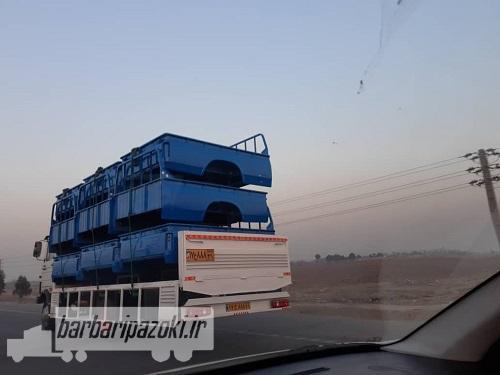 حمل بار ترافیکی سنگین به شهرستان