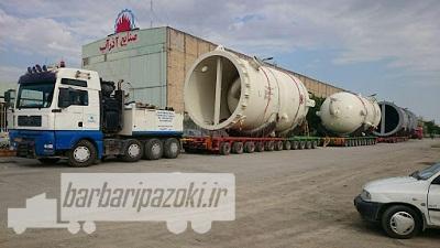 حمل و نقل تجهیزات سنگین