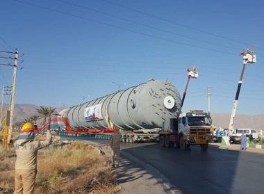 حمل بار ترافیکی از اصفهان