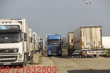 حمل بار به مرز شیخ صالح